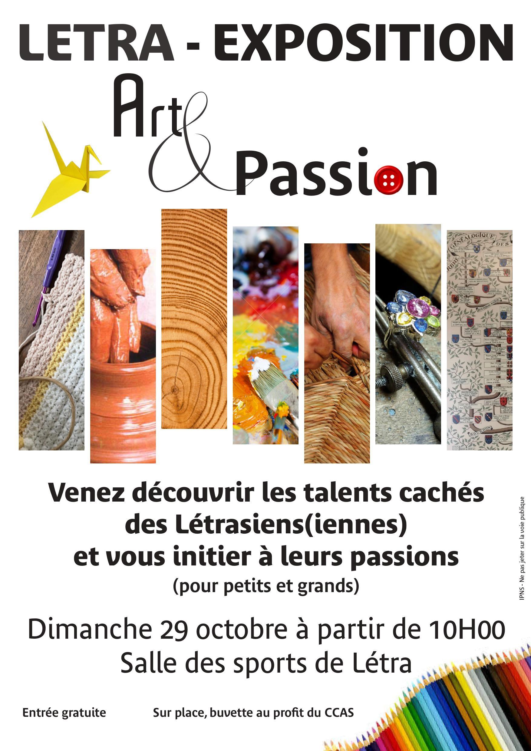 affiche art_et_passion à létra