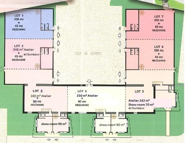 Plan de la Buissonnière