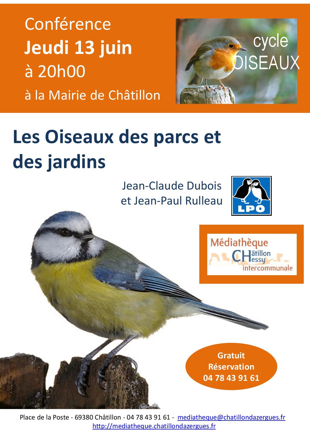 affiche conf oiseaux