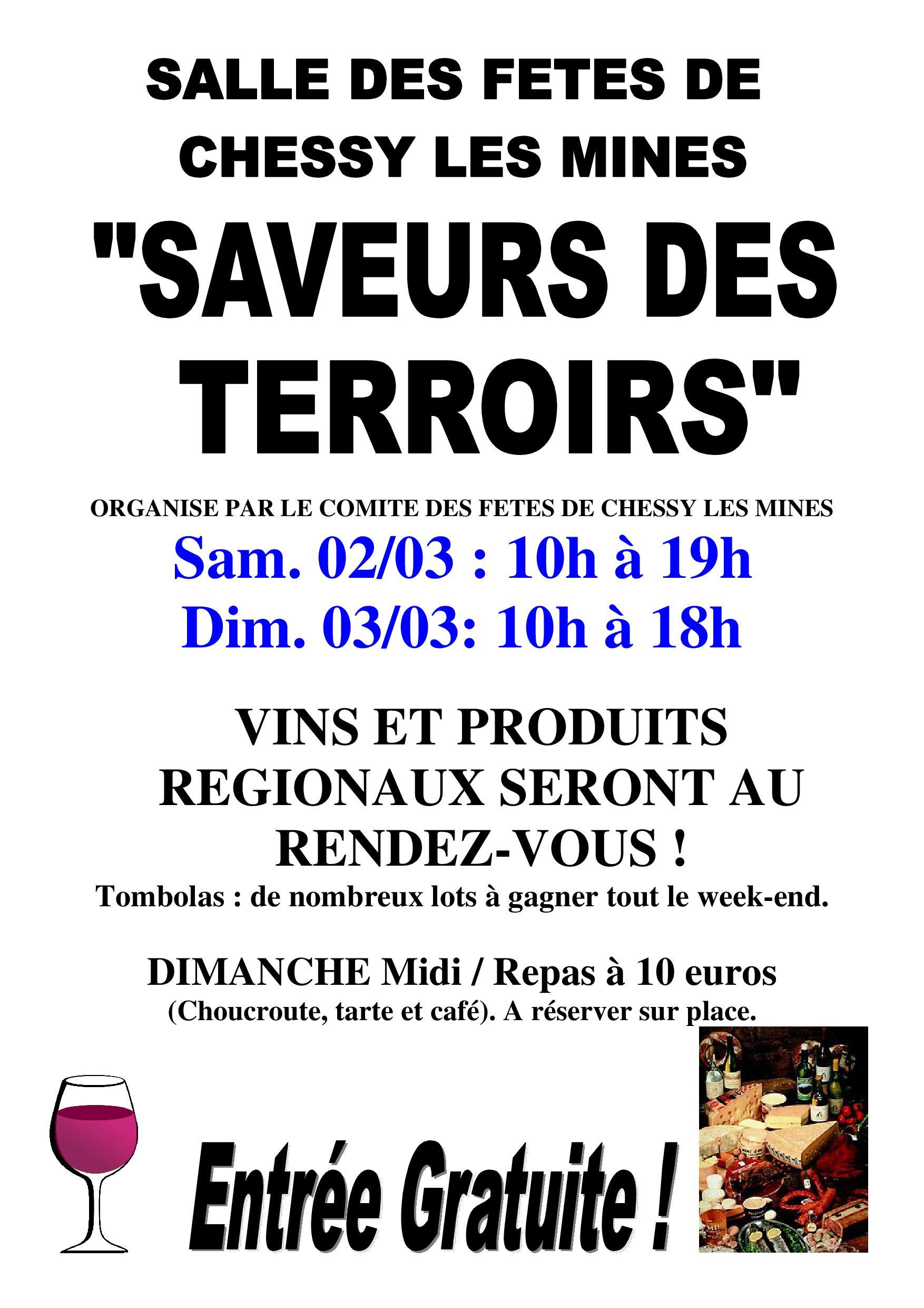 Affiche Saveurs des Terroirs