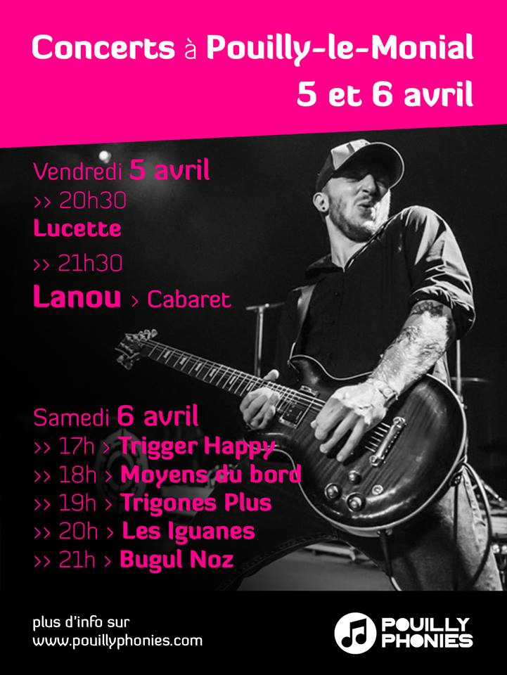 Affiche concerts POUILLYPHONIES