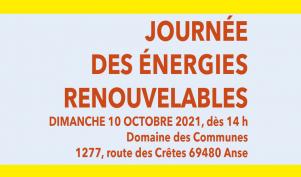 Journée des énergies renouvelables