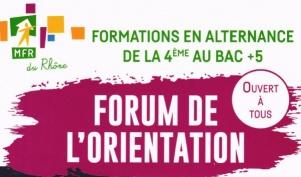 Forum de l'orientation MFR
