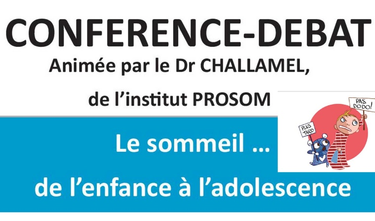 Image conférence sommeil