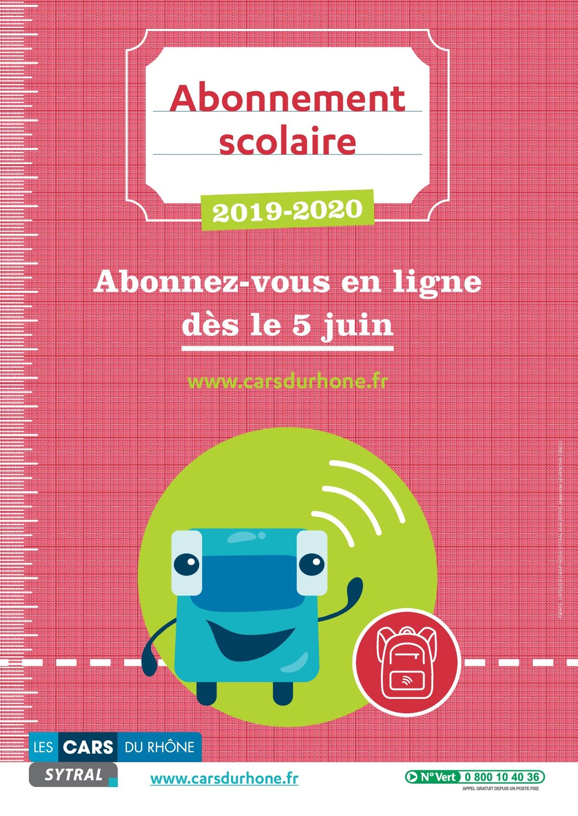 sytral 2019-20 affiches scolaire
