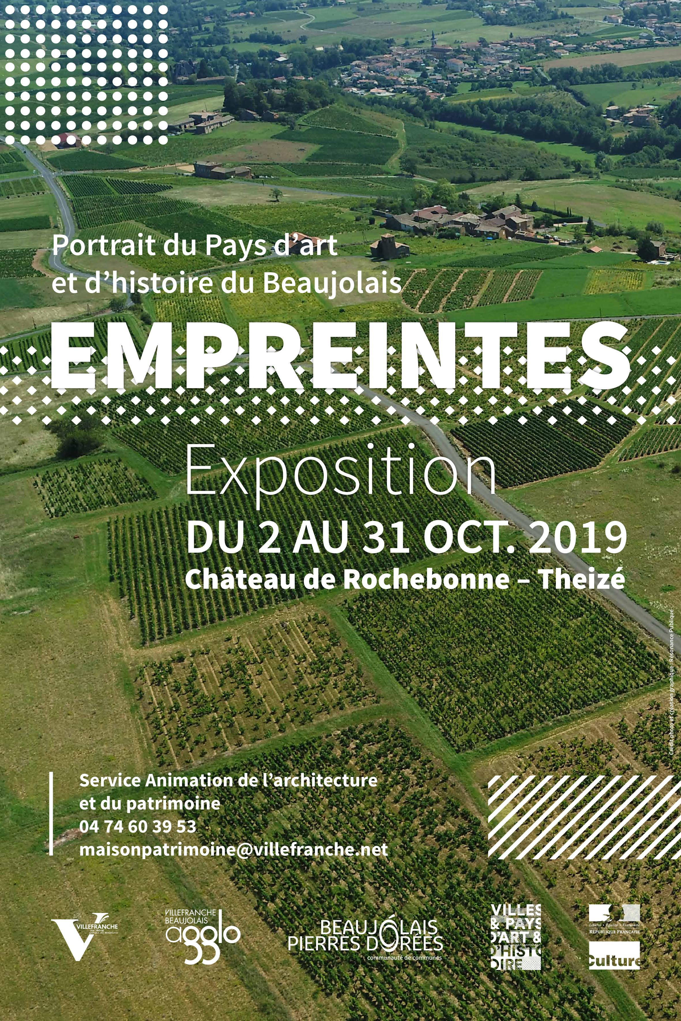 Exposition du 02 au 31 octobre 2019